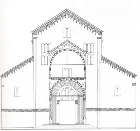Prof costantini arte romanica - Finestre circolari delle chiese gotiche ...